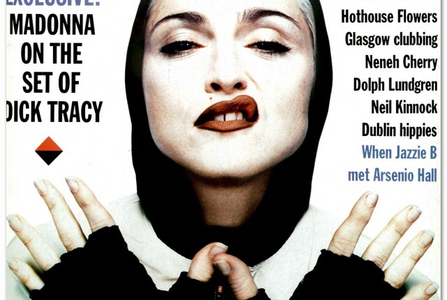 madonna the face magazine _1990